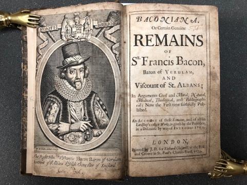 """La """"Baconiana"""" - Londra 1679"""