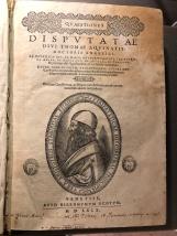 """Il """"Tommaso d'Aquino"""" - Frontespizio"""