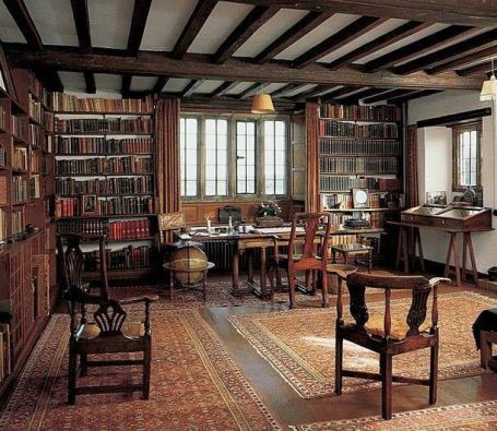 Lo studio di Kipling a Bateman's House