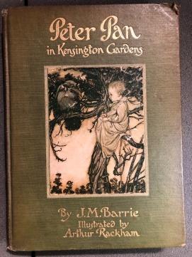 Una delle prime edizioni di Peter Pan