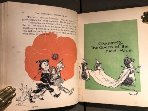 """Dalla prima edizione de """"Il Mago di Oz"""""""