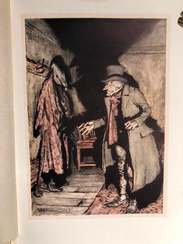 Scrooge visto da Rackham