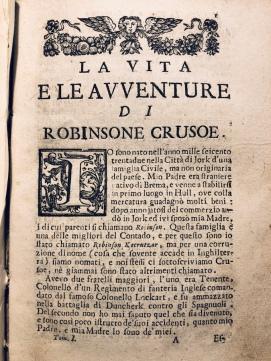 L'incipit dell'edizione veneziana del 1738