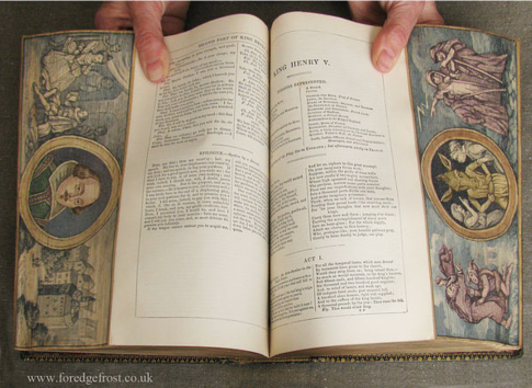 "iIl libro aperto - tecnica del ""double"" fore-edge painting"
