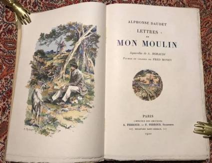 Lettres de Mon Moulin - Edizione limitata - Paris 1920