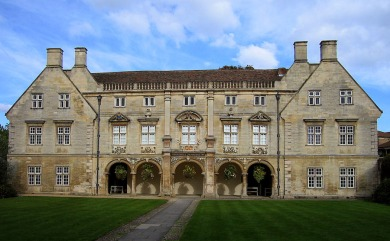 "Magdalene College di Cambridge - ""Pepys Library"