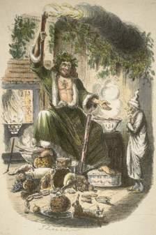 """Il """"Santa Claus"""" di Dickens dalla prima edizione"""