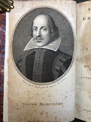 L'edizione di Stockdale del 1790 - Ritratto