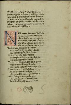 Editio Princeps - Foligno 1472