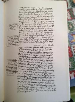 manoscritto diario colombo