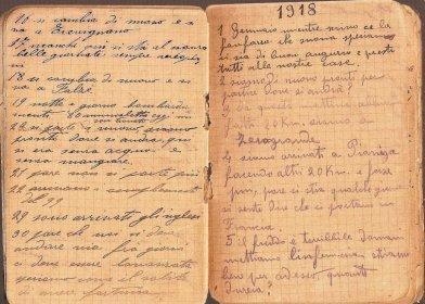 Diario di guerra - 1918