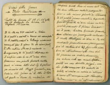 Diario di guerra - 1915