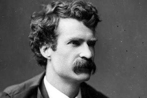 7-Mark Twain